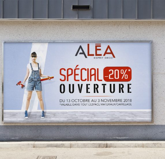 Campagne publicitaire ALEA DECO by Start'On