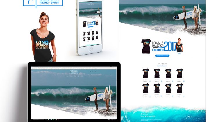creation site internet responsive avec parallaxe
